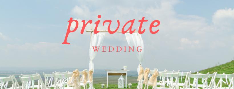 private wedding picture